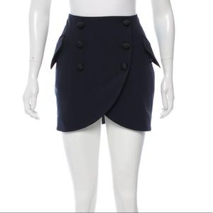Used, Laveer Kadette Navy Mini Skirt (Sz 2) NEW W/ TAGSNWT for sale